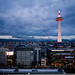 Kyoto Tower at Dusk by Peter E. Lee