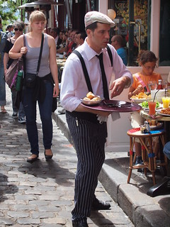 french waiter