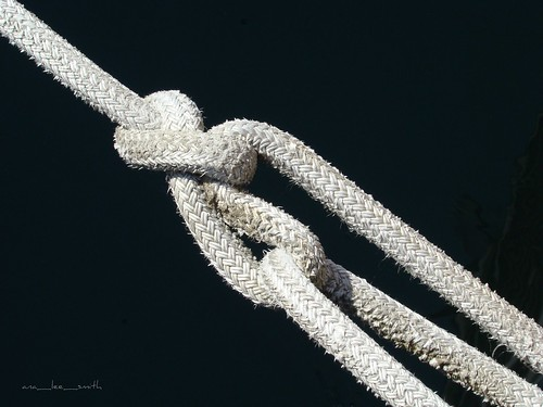 tied up in knots.......