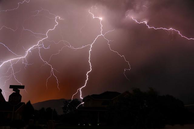 Lightning In Highland Scary Thunder Flickr Photo Sharing