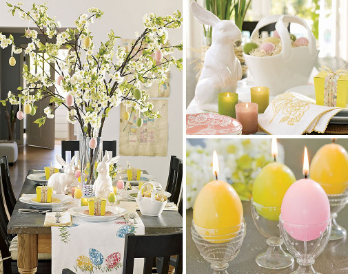 Pottery barn easter table setting ideas flickr photo sharing - Table easter decorations ...