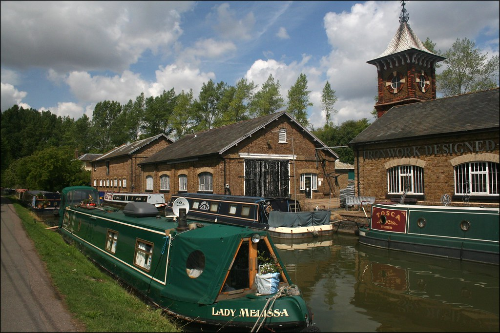 Bulbourne Wharf on The Grand Union Canal