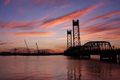Jordan Bridge Sunset