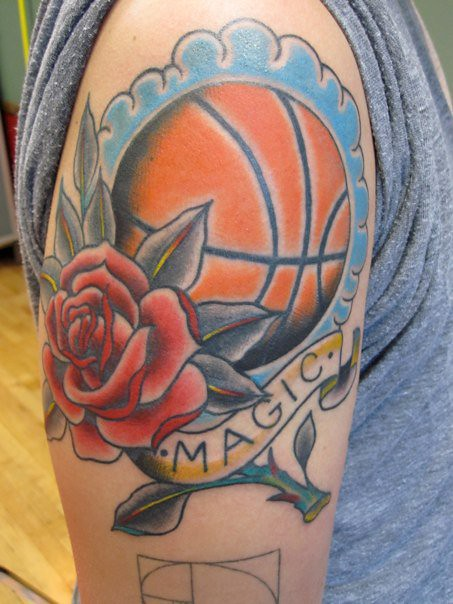 Pin balones de basquetbol tattoo on pinterest for Gerald green tattoo