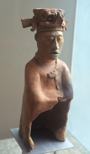Maya Ceramic Figure Mexico