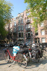 Bikes in the Okeghemstraat