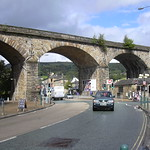 Todmorden Viaduct and Bus Station, Calderdale