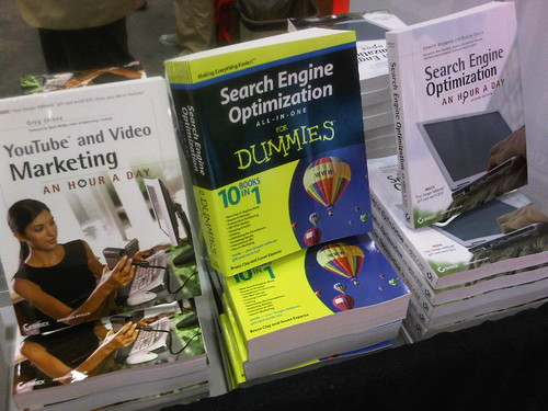Seo for dummies, SEO All-In-One for Dummies at the Wiley booth