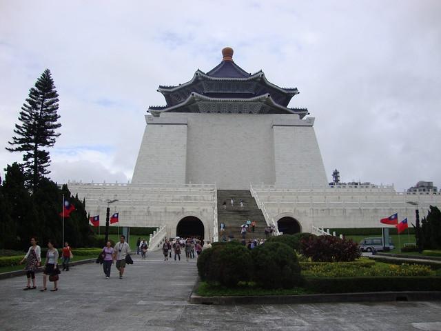 National Chiang Kai-shek Memorial Hall by CC user lyng883 on Flickr