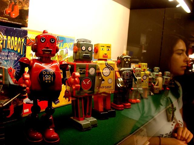Todo el mundo con el paso del robot: Luis Ricardo