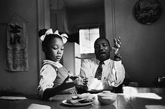 Martin Luther King at home by James Karales