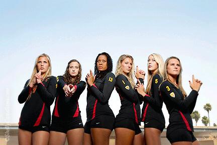 Trojan Women S Volleyball
