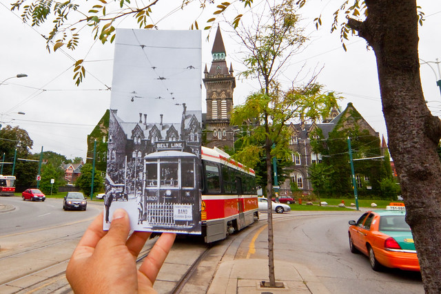 Travelling through time on the Spadina Streetcar