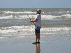 beach, fishing, sea, ocean, casting fishing, recreational fishing, wind, surf fishing, shore, coast,