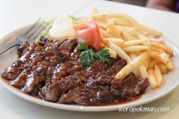 Black Pepper Steak with Fries | Flickr - Photo Sharing!