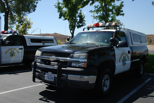 CALIFORNIA HIGHWAY PATROL (CHP) - CHEVY PICKUP TRUCK