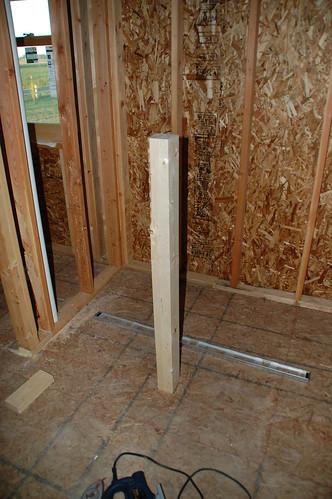 Diy Walk In Shower Step 1 Rough Framing Diydiva