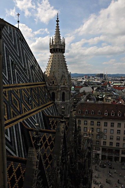 View from The Bell Tower of St. Stephen's Cathedral, Vienna