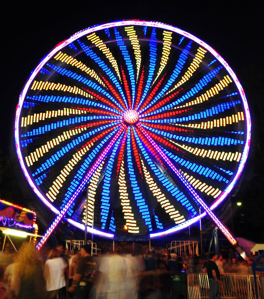 Have You Ever Seen Long Exposure Photos of Ferris Wheels ...