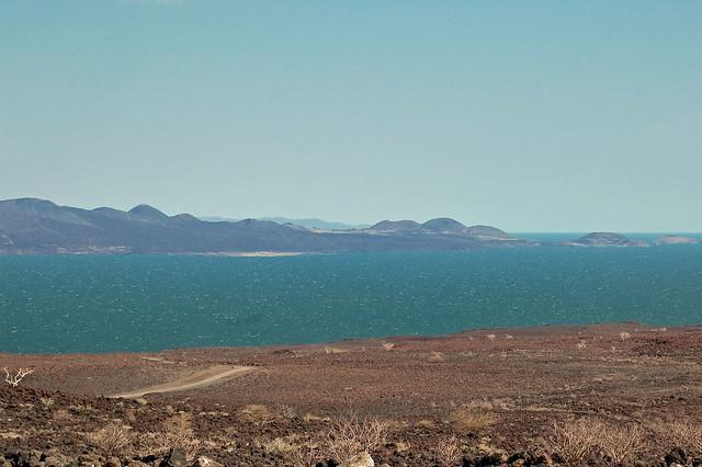 Lake Turkana vista