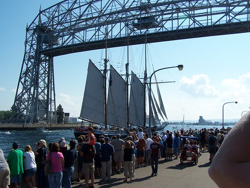 Tall Ships Visit Duluth,MN