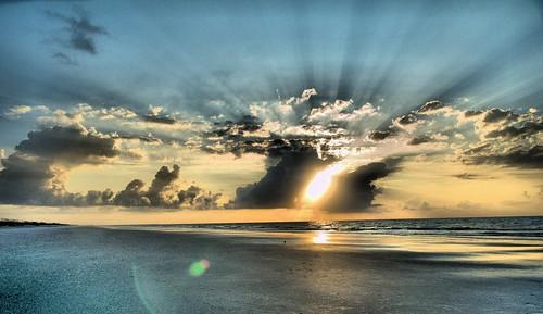 park beach sc sunrise state huntington inlet murrells murrels
