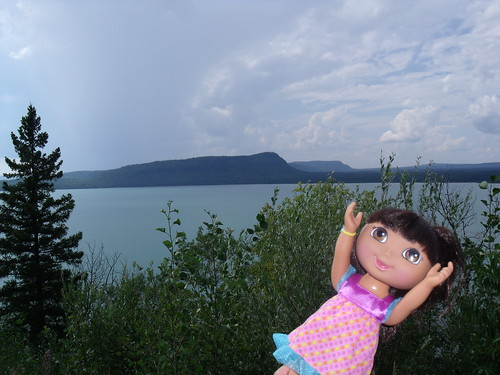 Dora and the Sleeping Giant, Thunder Bay, ON