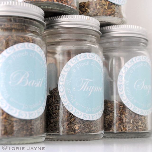 Herb Jar labels