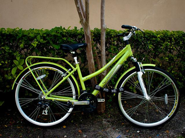Green Bike #3