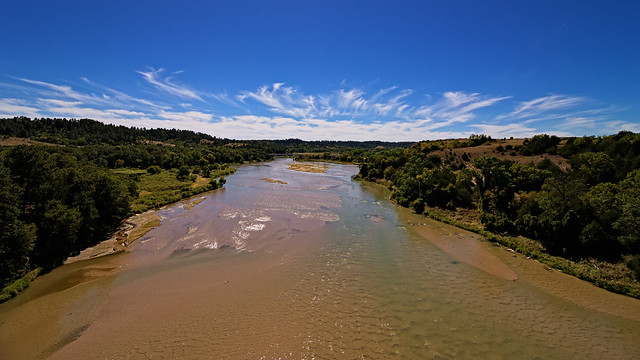This is Nebraska?  AKA The Niobrara National Scenic River