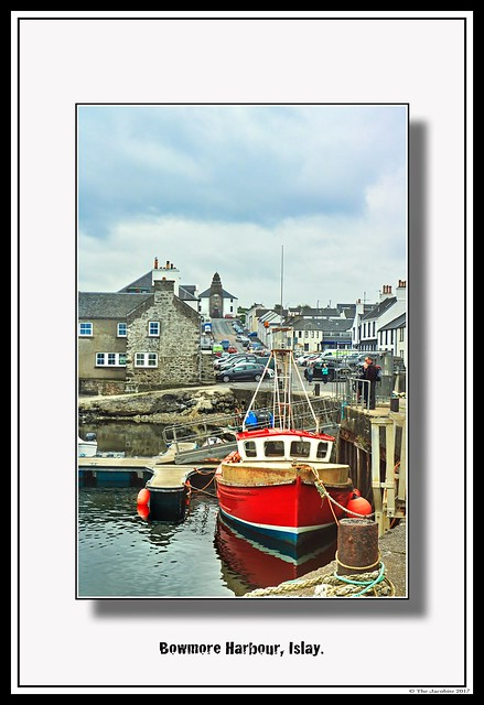 Bowmore Harbour, Islay.
