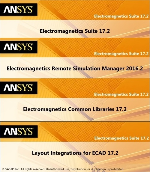 ANSYS Electromagnetics Suite 17.2 Win64