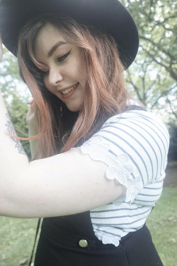 Fedora stripe t-shirt 2
