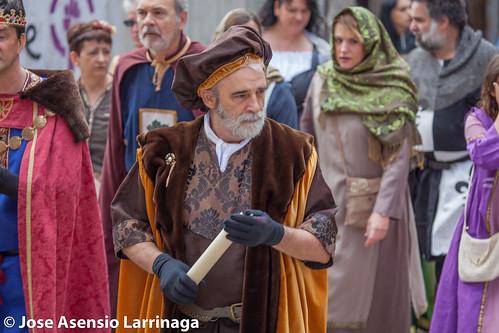 Fiestas medievales en Artajona 2017 #DePaseoConLarri #Flickr -171