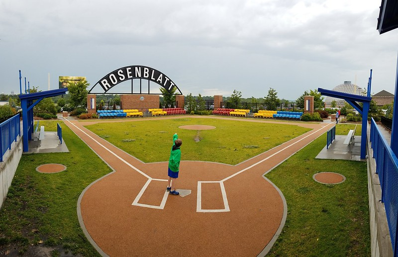 c46c5714e Omaha's Rosenblatt Stadium was the home of the College World Series from  1950 through 2010, as well as the home of the Kansas City Royals' AAA team  for a ...