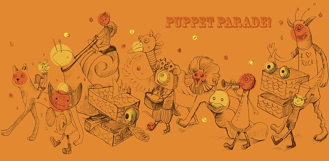 Sketch of Puppet Parade Week