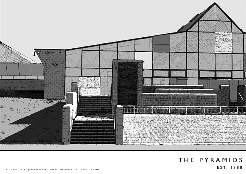The pyramids flickr photo sharing for Pyramid swimming pool portsmouth
