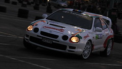 race car, auto racing, automobile, automotive exterior, racing, vehicle, automotive design, world rally car, bumper, toyota celica gt-four, sedan, land vehicle, sports car,