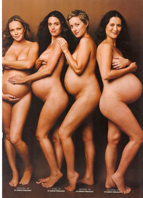 Nude Pregnancy Photo 24