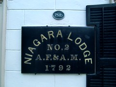 Niagara Masonic Lodge No. 2 at Niagara on the Lake, Ontario, Canada