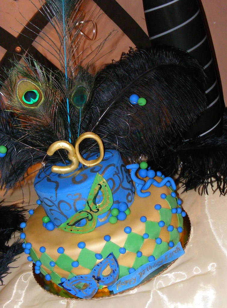 Enjoyable Mardi Gras Birthday Cake Mardi Gras Birthday Cake Flickr Funny Birthday Cards Online Alyptdamsfinfo