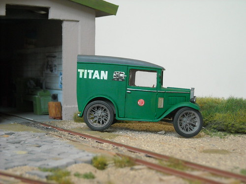 Service van from 'Titan'