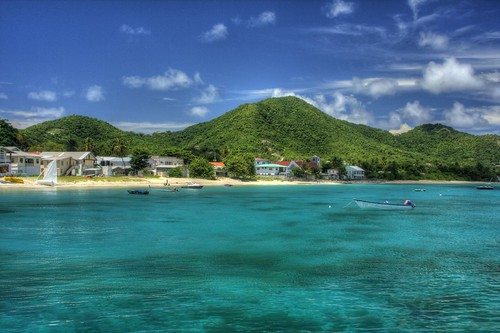 Approaching Carriacou