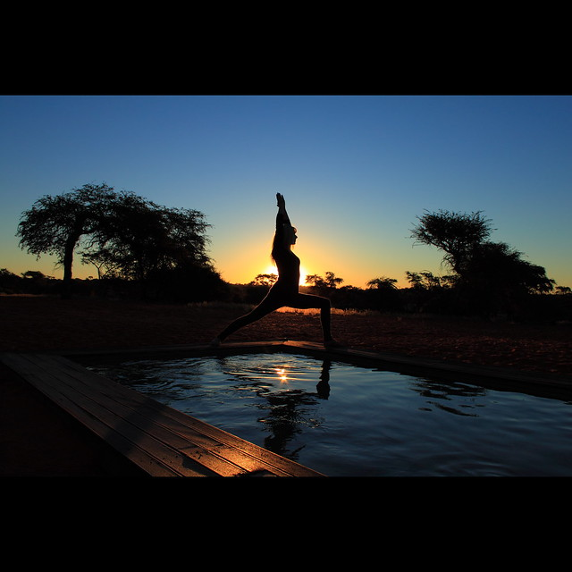 Kalahari Yoga Sunset • explored