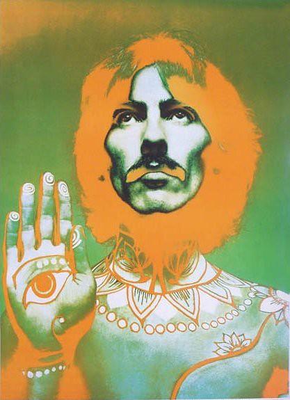 George Harrison, by Richard Avedon