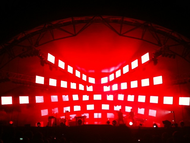 Nine Inch Nails light show