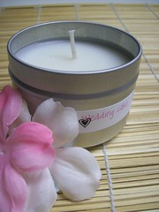 Wedding Cake Lotion Candle