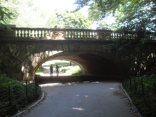 Central Park Arch Underpass NYC Path NEW YORK CITY 2010 Christian Montone