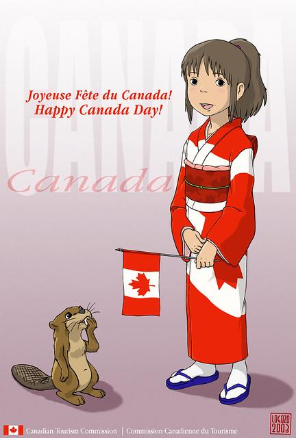 Chihiro_Canada_Day