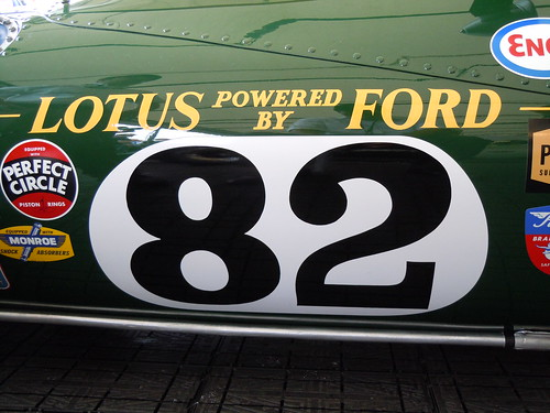 Lotus-Ford 38/1 Post-Restoration Debut at Goodwood Festival of Speed 2010